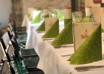 Gasthaus Feuerkugel Erfurt - Unser gemütlicher Biergarten im Innenhof